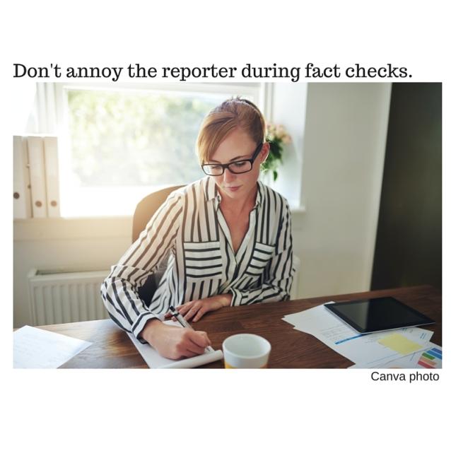 tip#15.Don'tannoythe reporter